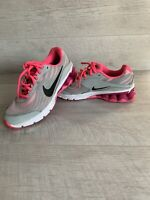 Nike Reax Run 9 Running Training Shoes Gray Coral 653612-005 Women Size 4UK 37.5