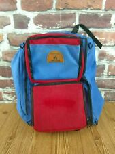 Wenoka Sea Style Large Dive Bag Backpack Style Red / Blue US Ship