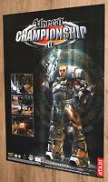 Unreal Championship 2002 very rare Promo Poster 84x59.5cm Xbox