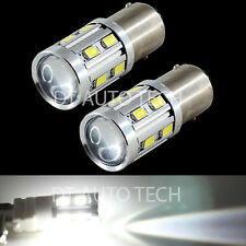 1156 High Power 5630 Chip+Cree LED White Turn Signal Tail Lights Bulbs+Resistors