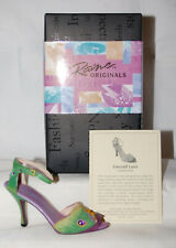 Just The Right Shoe by Lorraine Vail Shoe Miniatures- Emerald Luna