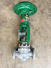 """Fisher 1-1/2"""" 150# Flanged Control Valve Type ED With Size 30 Actuator Type 667"""