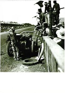 PHOTOGRAPHS  ROUGIER LORRAINE De DIETRICH Refuelling And Tyre Change