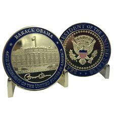 E-022 44th President Barack Obama Challenge Coin White House POTUS