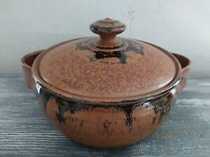 Casserole Pot Pottery Hand Crafted By Kay Brooks