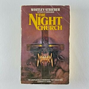 The Night Church by Whitley Strieber (Paperback, 1984)