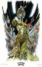 "Chicago Comics Exclusive ALEX ROSS ""La Femme Comique"" Poster Print Lithograph!!"