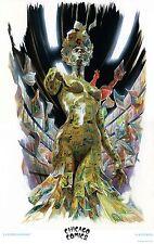 """Chicago Comics Exclusive ALEX ROSS """"La Femme Comique"""" Poster Print Lithograph!!"""