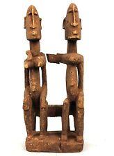 Art Africain Arts Premiers - Ancien Couple Primordial Dogon - 23 Cms +++++++++++