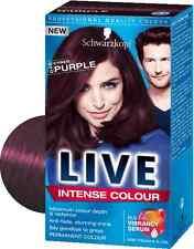 "New Schwarzkopf Profesional Life Color Intenso Tinte Cabello ""Cyber Lila"" 046"