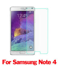 New 9H Premium Tempered Glass Screen Protector Film Guard For Samsung NOTE 4
