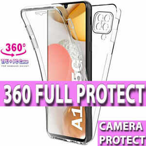 Case For Samsung S20 S21 PLUS ULTRA  360 FRONT & BACK CLEAR Cover Shockproof UK