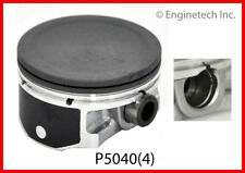 Engine Piston Set ENGINETECH, INC. P5040(4)STD