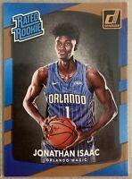 2017-18 Donruss Jonathan Isaac Rated Rookie Card 195 Orlando Magic RC