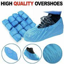 1000x Disposable Shoe Cover Anti Slip Plastic    14inchx5.9inch Brand New Sealed