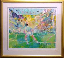 "LeRoy Neiman ""Stadium Tennis"" Hand Signed Serigraph Limited Edition Art OBO"