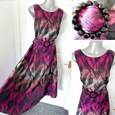 ❤ PHASE EIGHT Ladies Size 14 Occasion Ombre Dress Cyclamen NEW RRP £150 Wedding