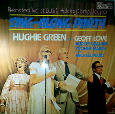 HUGHIE GREEN LP RECORD SING-ALONG PARTY LIVE AT BUTLIN'S CAMP MADE IN ENGLAND