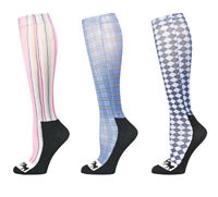 Equine Couture Isabel Padded Boot Socks - 3 Pack