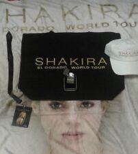 New SHAKIRA El Dorado Tour VIP MERCHANDISE SET incl. 5 by 4 fleece blanket hat++