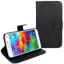 Plain Mobile Phone Wallet Cases for Samsung Galaxy S5