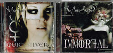 Quicksilver + Immortal [Single], Crüxshadows + Once Beautiful by the Last Dance
