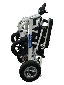 FoldAway Powerchair Carry 130kg Portable For All Terrain and Ages