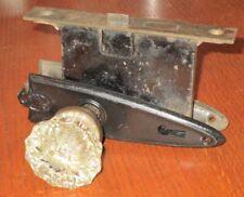 Antique Corbin Door Latch, Decorator Plates And Glass Door Knobs