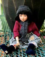 Kish OOAK repaint doll LITTLE MATCHSTICK GIRL