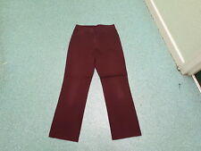 "Marks & Spencer Straight Jeans Size 10 Leg 29"" Faded Maroon Ladies Jeans"