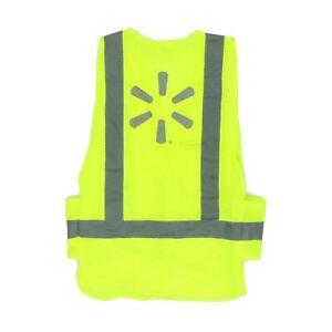 Proud Walmart Associate Adult Medium Large 43 Safety Vest Reflection Neon Yellow