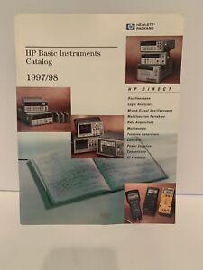 HP 1997/1998 Basic Instruments Products Catalog