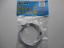 BELVIN WHITE FRONT BRAKE CABLE UNIVERSAL DUAL NIPPLE RALEIGH REBUILD BARREL PEAR