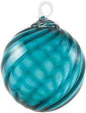 BLUE TOURMALINE~Classic Round Ornament by Glass Eye Studio~Made in USA~0029OCR