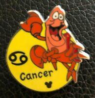 🌙 CANCER Sebastian Zodiac Series Hidden Mickey - Walt Disney World Mystery Pin