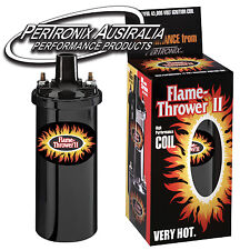 Pertronix Flame-Thrower II Coil - 0.6 ohm - 4, 6 & 8 Cyl - Black - 45,000V #6202