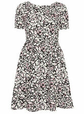 Polyester Short Sleeve Floral Tall Dresses for Women