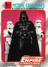 1980 Topps Star Wars ESB #1 Title Card > Darth Vader > Stormtroopers