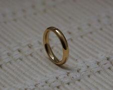 Qudo Famosa Ring Narrow  - Gold/Plated- Interchangable Swarovski Crystals