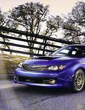 2008 Subaru Impreza WRX STI Original Car Review Print Article J530