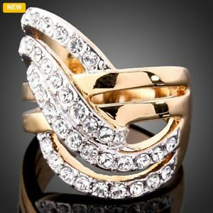 Fasion Rose Gold plated ring