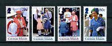 Cayman Islands 2016 MNH Queen Elizabeth II 90th Birthday 4v Set Royalty Stamps