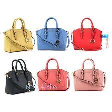 Michael Kors средний Messenger через плечо Ciara сумка из сафьяновой кожи