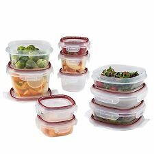 Rubbermaid Easy Find Lid Lock-Its Food Storage Container, 20-Piece Set FG7N0500