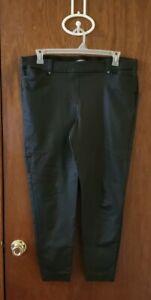 Maurices Black Pleather Faux Leather Skinny Pants Sz Xxl