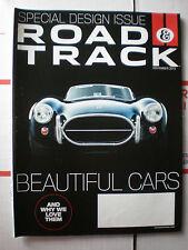 Road & Track Magazine November 2013- Special Design Issue