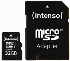 Intenso Micro SDHC Karte 32GB Speicherkarte UHS-I Premium 45 MB/s Class 10 bulk