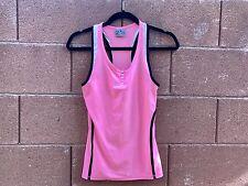 ReActivate Women Tank Top Sport Pink Racerback XS
