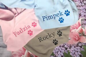 Gift For Dog Cat High Quality Pet Blanket Soft Fleece Puppy Blanket Name Paw