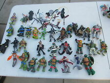 Nickelodeon TMNT Teenage Mutant Ninja Turtles 40+ figures some accessories